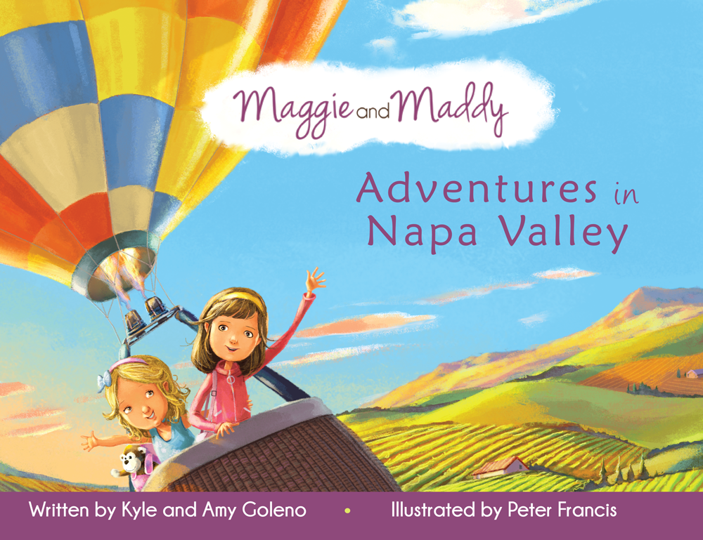 Maggie and Maddy Adventures in Napa Valley Book